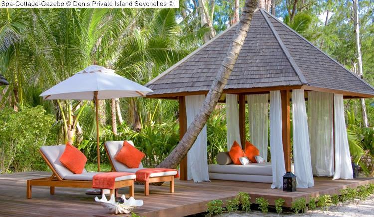 Spa Cottage Gazebo Denis Private Island Seychelles