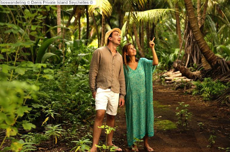 boswandeling Denis Private Island Seychelles