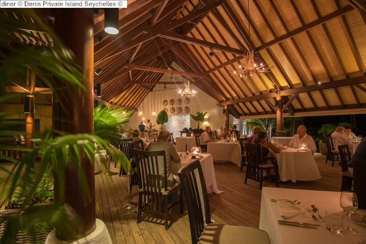 diner Denis Private Island Seychelles