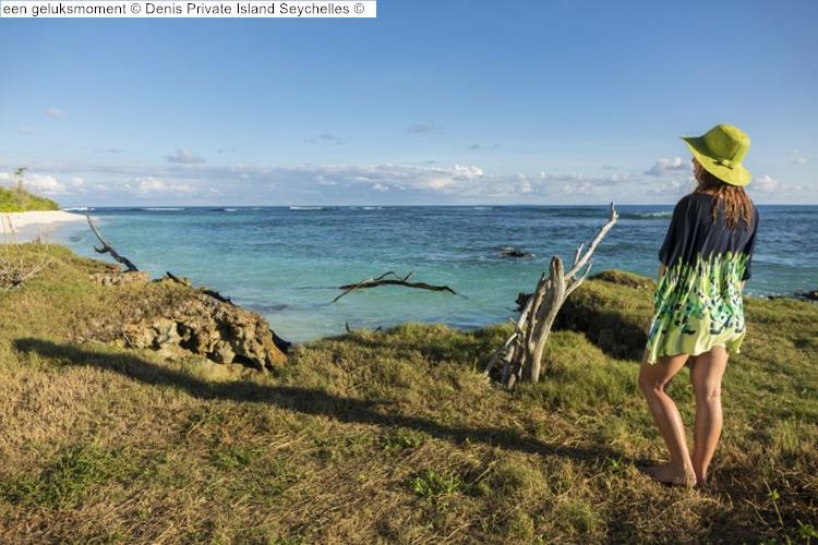 een geluksmoment Denis Private Island Seychelles