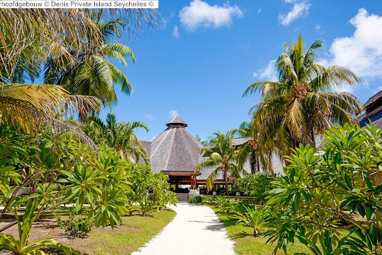 hoofdgebouw Denis Private Island Seychelles