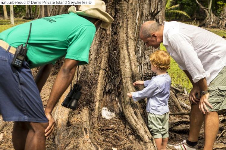 natuurbehoud Denis Private Island Seychelles