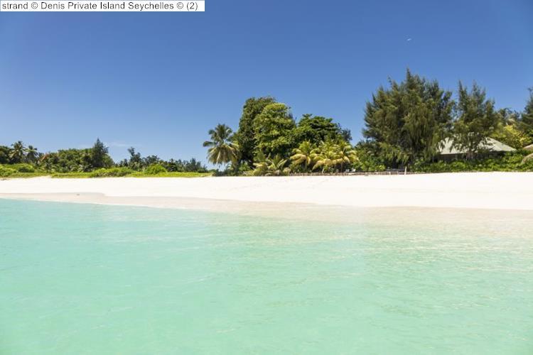 strand Denis Private Island Seychelles