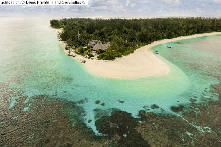 luchtgezicht Denis Private Island Seychelles