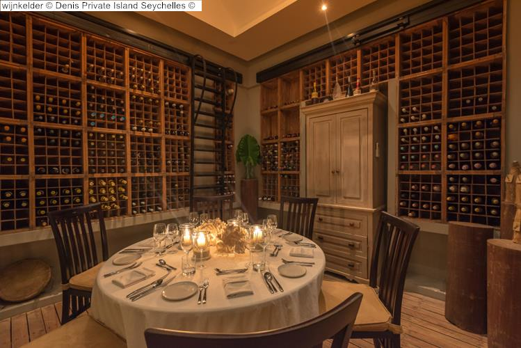 wijnkelder Denis Private Island Seychelles