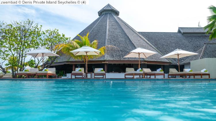 zwembad Denis Private Island Seychelles