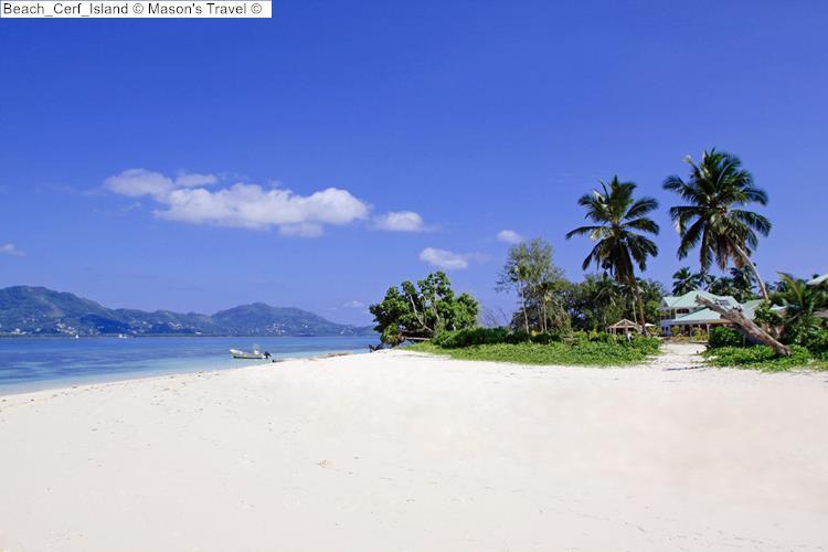 Beach Cerf Island Mason's Travel