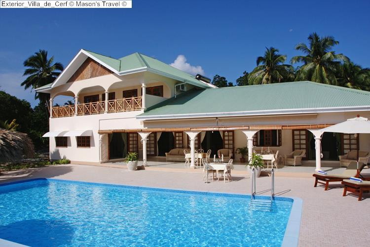 Exterior Villa de Cerf Mason's Travel