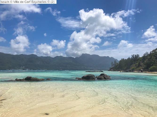 beach Villa de Cerf Seychelles