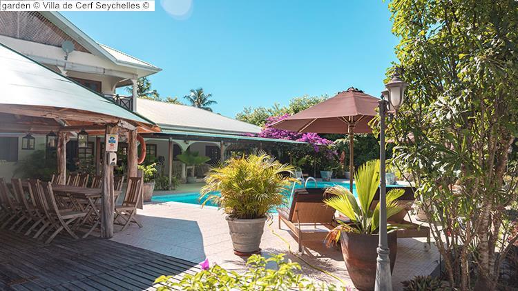 garden Villa de Cerf Seychelles
