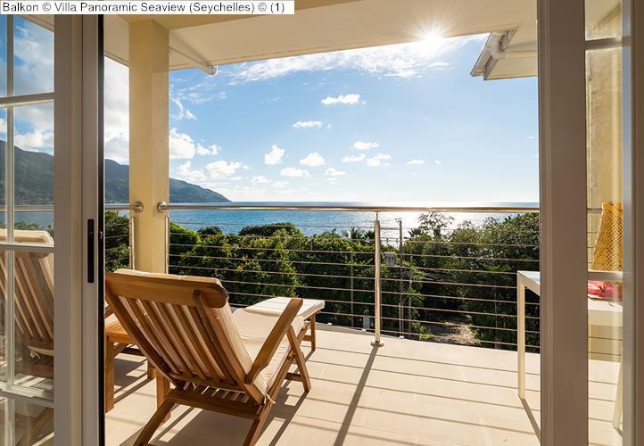 Balkon Villa Panoramic Seaview Seychelles