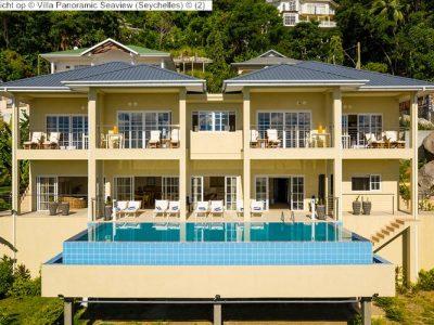 Gezicht op Villa Panoramic Seaview Seychelles