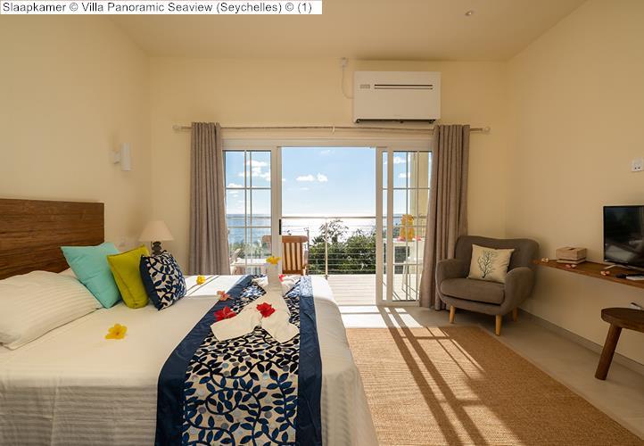 Slaapkamer Villa Panoramic Seaview Seychelles