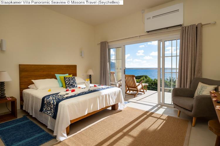 Slaapkamer Villa Panoramic Seaview Masons Travel Seychelles