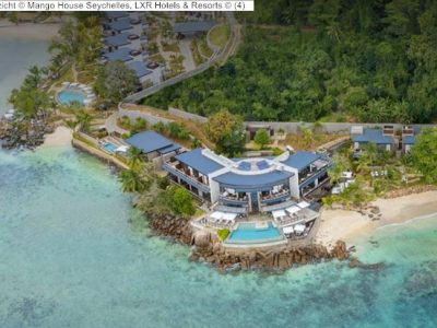luchtgezicht Mango House Seychelles, LXR Hotels & Resorts