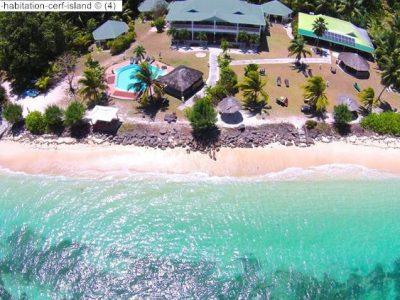 luchtgezicht l habitation cerf island